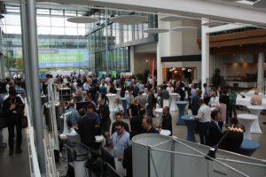 Auch in den Pausen gab es viel Gelegenheit, sich ünber SolidWorks und seine Partner zu informieren.