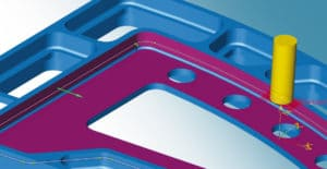 5Achs-Walzen mit einer Kurve: perfekte Flächen und Kurven für die Walzbearbeitung erstellen.