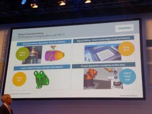 Mehrere komplexe 3D-Druckverfahren werden von der neuen Siemens-Lösung unterstützt - spätestens im Jahr 2017.