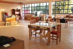 Die Räume des FabLab wurden in Eigeninitiative renoviert und eingerichtet.