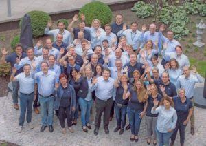 Die DPS Mannschaft in Stuttgart erwartet die Flüchtlinge (Bild: DPS Software).