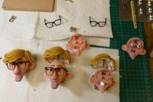 Die Gesichter der Stop-Motion-Puppen wurden mit einem Stratasys J750 erstellt (Alle Bilder: Stratasys).