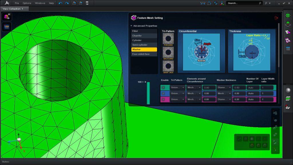 Das neueste Produkt von MSC Software ist das Berechnungstool Apex (Bild: MSC Software).