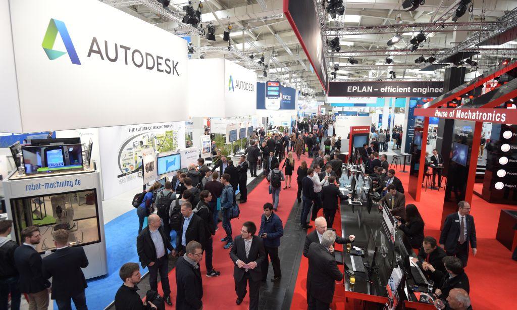 Die namhaften CAx-Hersteller finden sich diesmal in Halle 6 (Bild: Hannover Messe).