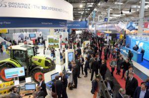 Die Digital Factory - diesmal mit 11.000 Quadratmetern Netto-Ausstellungsfläche (Bild: Hannover Messe).