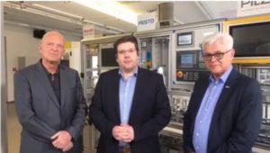 Prof. Syska, Robert Weber und Prof. Zühlke im Streitgespräch zu Industrie 4.0