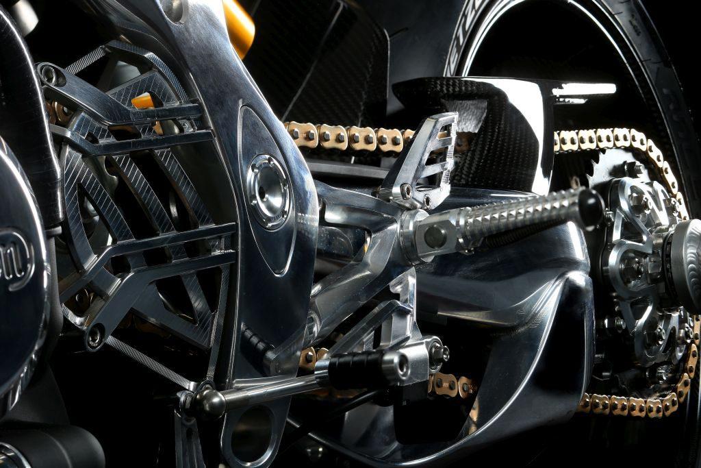 """""""British Craftsmanship"""" vom Feinsten: Die Norton V4 RR im Detail (Bild: Norton)."""