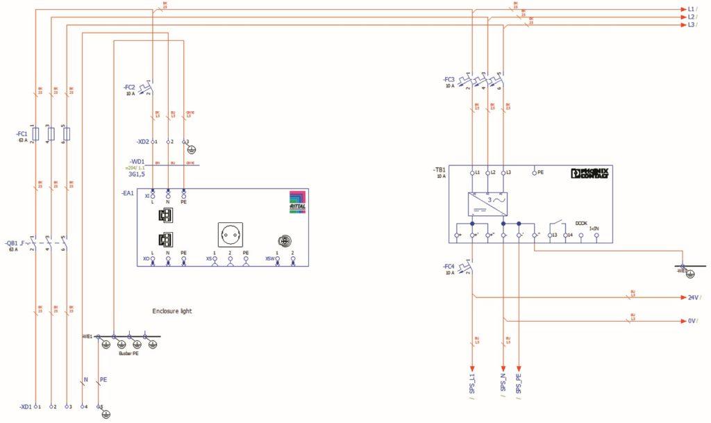 Im Project Builder von Eplan Cogineer werden Schaltpläne schnell Konfiguriert (alle Bilder: Eplan).