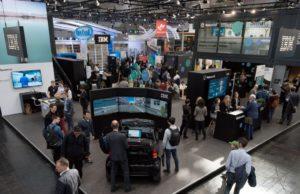 IBM-Messestand auf der Hannover Messe