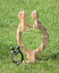 Skulptur aus CAD für Maker