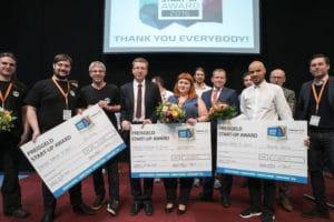 Gewinner des Startup Award 2016 der Fabcon 3.D