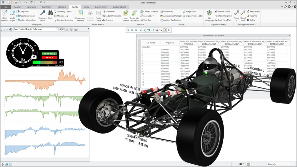 Screenshot PTC Creo Product Insight