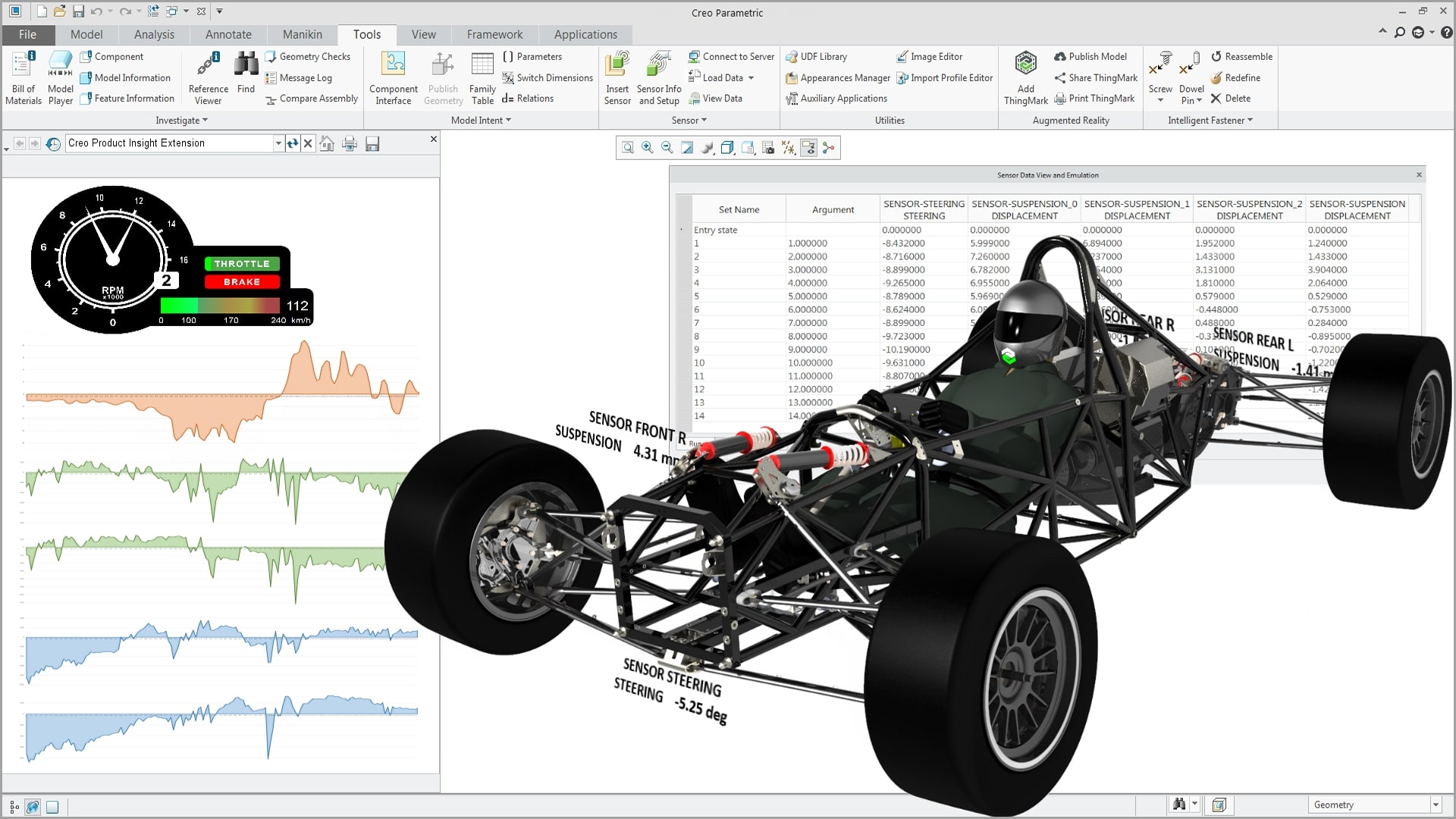 Screenshot PTC Creo Product Insight