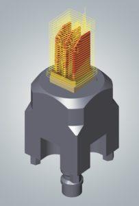 Elektrode in hyperMILL