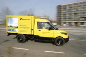 E-Auto in Aktion: Streetscooter der Post