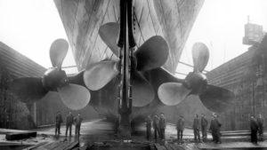 Propeller der Titanic