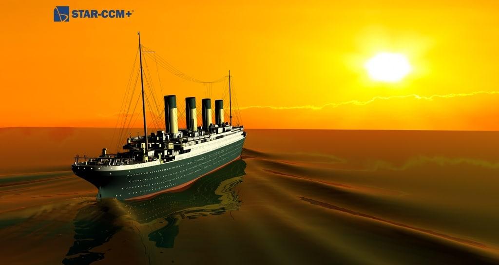 die titanic f hrt wieder dank simulation von siemens. Black Bedroom Furniture Sets. Home Design Ideas