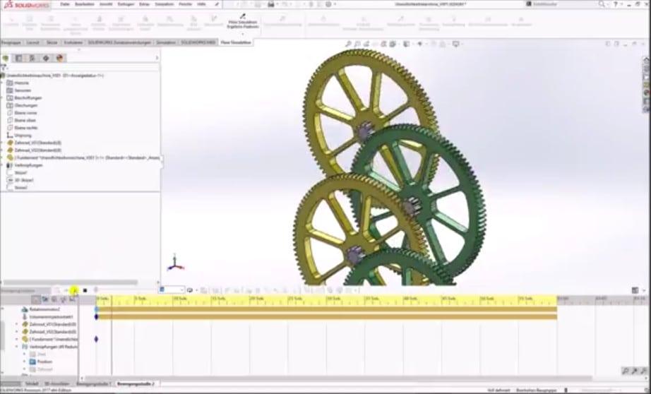 Unendlichkeitsmaschine in SolidWorks