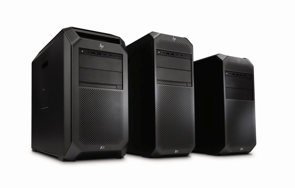 HP Z4, Z6, Z8 Familie