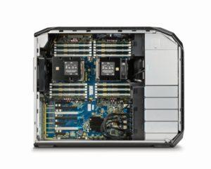 Das Innere der HP Z8
