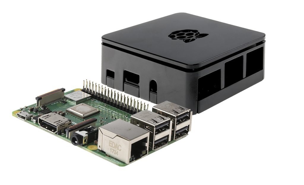 RS Components verkauft den neuen Raspberry Pi mit dem offiziellen Gehäuse
