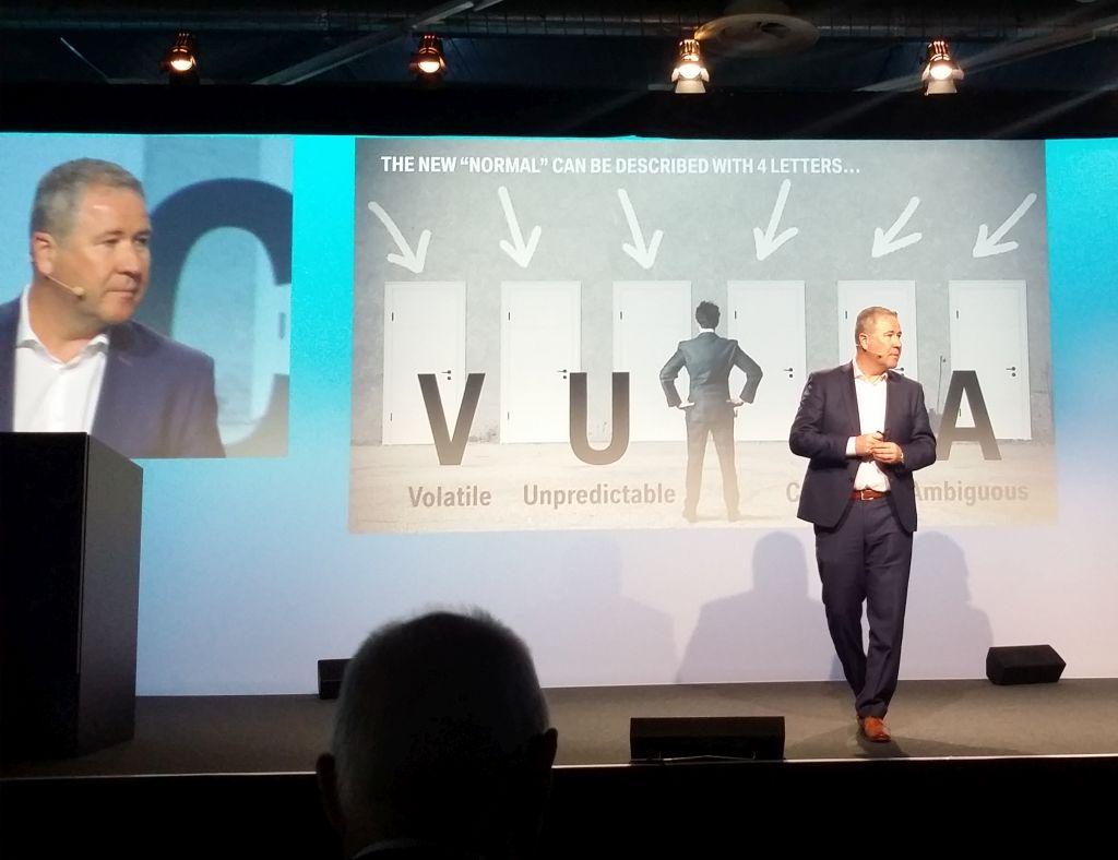 Klaus Straub, CIO der BMW Group, auf dem Prostep iViP Symposium