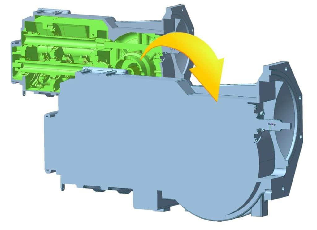 CADdoctor EX8 Hüllgeometrie