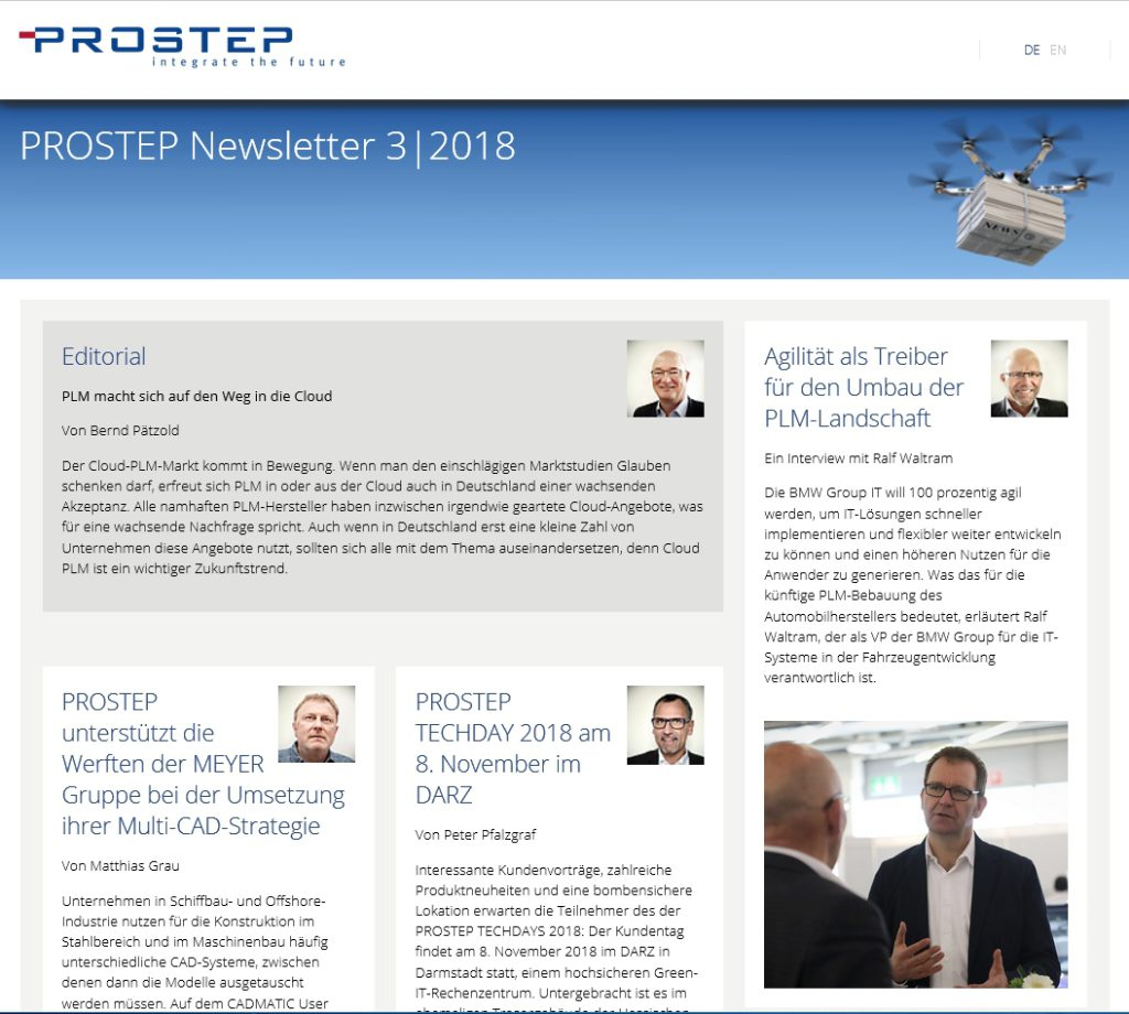 Prostep-Newsletter