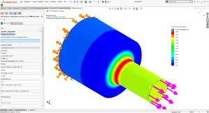 FKM-Richtlinie in SolidWorks mit PowerWorks SimExtender SolidLine