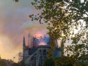 Brand von Notre Dame