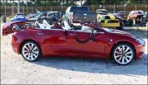 Tesla 3 Unfall