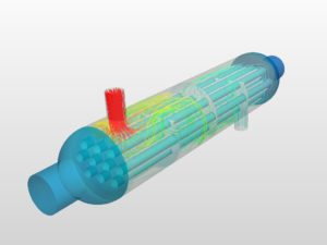 Simulation eines Wärmetauschers