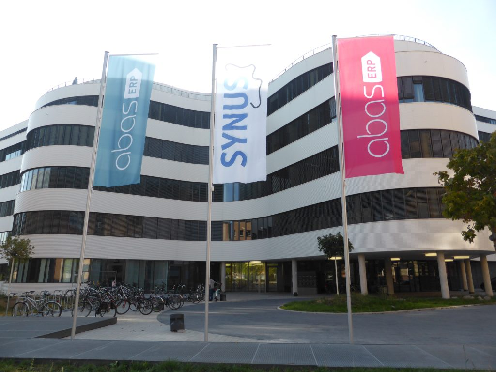Abas Hauptsitz in Karlsruhe
