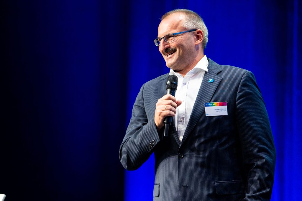Contact-Geschäftsführer Karl Heinz Zachries