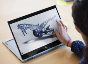 HP ZBook Studio x360 G5 im Tablet Mode