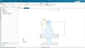 Siemens Industry Software NX Sketch
