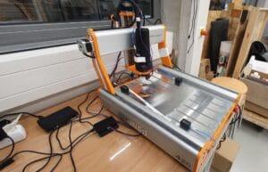 CNC-Fräse mit IoT-Sensoren