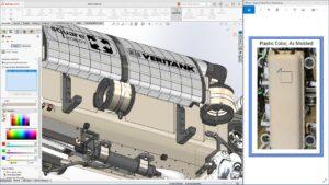 Universeller Colorpicker in SolidWorks 2021