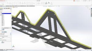 SolidWorks 2021 Blechbearbeitung