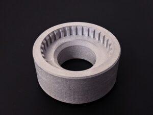 Metallteil aud dem Makerbot Method