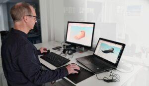 3Dconnexion-Eingabegeräte bei Ottobock
